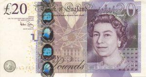 wymiana wycofanych z obiegu funtów brytyjskich