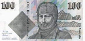 100 dolarów australijskich