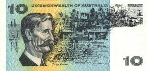 10 dolarów australijskich