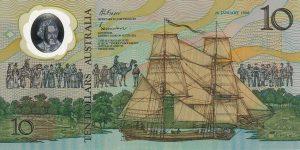 10 dolarów australijskich - banknot 3