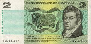 2 dolary australijskie