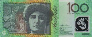 100 dolarów australijskich - banknot 2