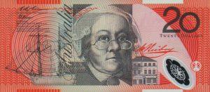 20 dolarów australijskich - banknot 2