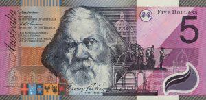 5 dolarów australijskich - banknot 2