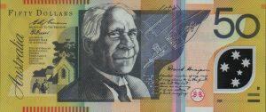 50 dolarów australijskich