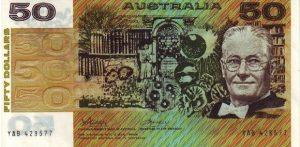 50 dolarów australijskich - banknot 2
