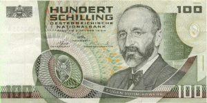 100 szylingów austriackich