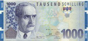 1000 szylingów austriackich