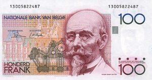 100 franków belgijskich - banknot 2