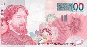 100 franków belgijskich