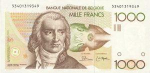 1000 franków belgijskich - banknot 2