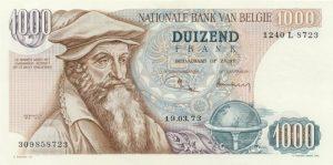 1000 franków belgijskich - banknot 3