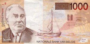 1000 franków belgijskich