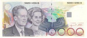 10000 franków belgijskich - banknot 2