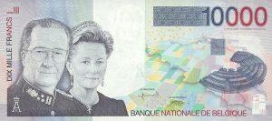 10000 franków belgijskich