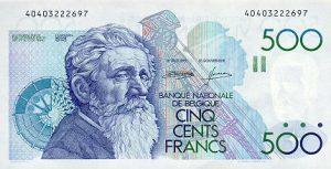 500 franków belgijskich - banknot 2