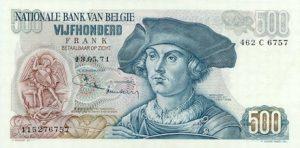 500 franków belgijskich - banknot 3