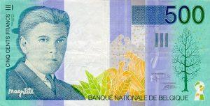 500 franków belgijskich