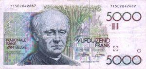 5000 franków belgijskich