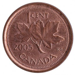 1 cent kanadyjski