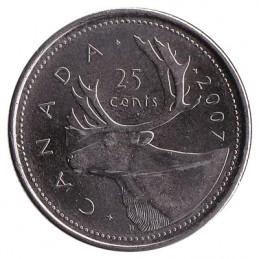 25 centów kanadyjskich
