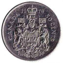 50 centów kanadyjskich