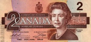 2 dolary kanadyjskie - banknot 3