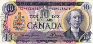 10 dolarów kanadyjskich - banknot 2