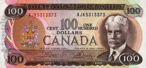 100 dolarów kanadyjskich - banknot 2