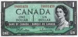1 dolar kanadyjski - banknot 2