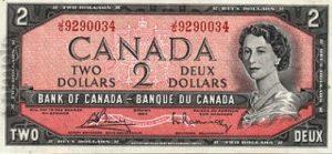 2 dolary kanadyjskie