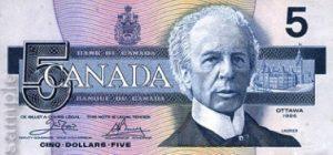 5 dolarów kanadyjskich - banknot 3