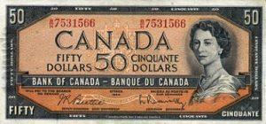 50 dolarów kanadyjskich
