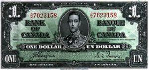 1 dolar kanadyjski