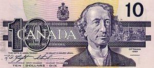 10 dolarów kanadyjskich - banknot 3