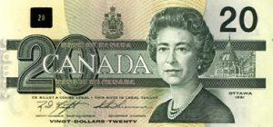 20 dolarów kandyjskich - banknot 3