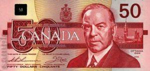 50 dolarów kanadyjskich - banknot 3