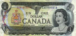 1 dolar kanadyjski - banknot 3