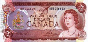 2 dolary kanadyjskie - banknot 2