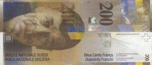 200 franków szwajcarskich