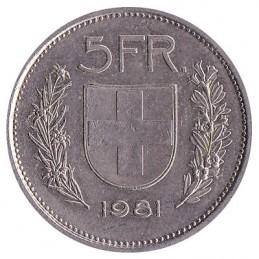 5 franków