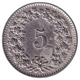 5 franków - zdjęcie 2