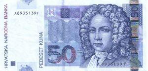 50 kun chorwackich - banknot 2