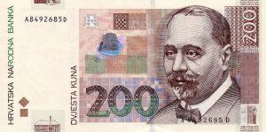 200 kun chorwackich - banknot 2