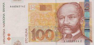 100 kun chorwackich - banknot 2