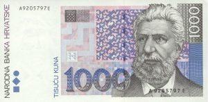1000 kun chorwackich