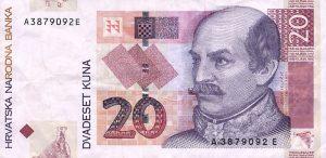 20 kun chorwackich - banknot 2