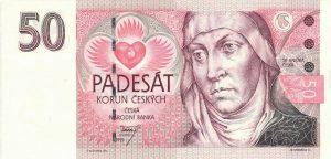 50 koron czeskich
