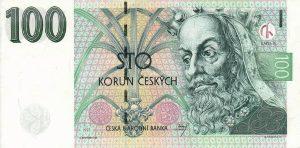 100 koron czeskich
