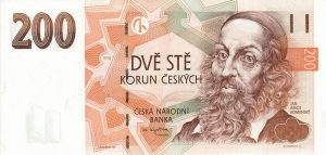 200 koron czeskich